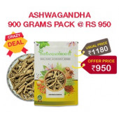 Crazy Deal - IndianJadiBooti Ashwagandha Roots - Premium Quality