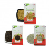 IndianJadiBooti Weight Loss Pack - Weightloss Pack [KaliJeeri 50 Gm- Ajwain100 Gm - Methi Dana 250 Gm]