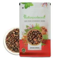 IndianJadiBooti Lal Arandi Beej - Red Castor Seeds - Erand Seeds - Ricinus communis