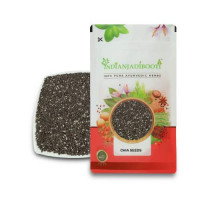 IndianJadiBooti Chia Seeds - Chia Beej - Tokma Dana - Salvia Hispanica