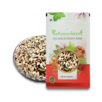 IndianJadiBooti Seven Seeds Raw - Seeds Mix - Seven Seed - 7 Seeds Raw