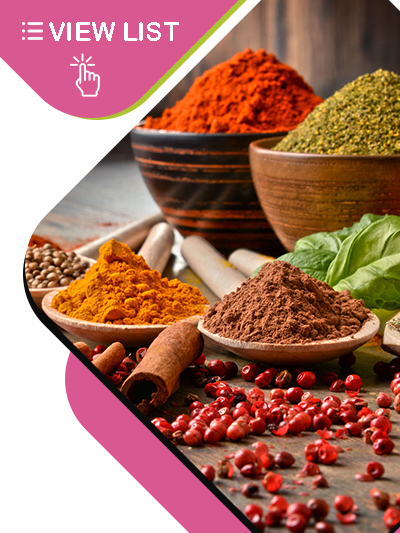 Herbs and Spices Powder