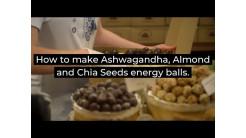 How to make Almond and Chia energy balls