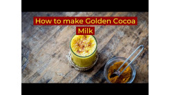 How to make Golden Cocoa Milk with Ashwagandha